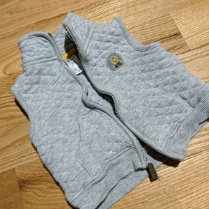 Carter's 12 mos boys grey vest